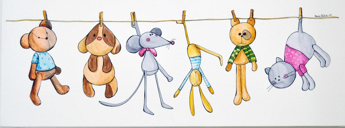 Cuadros infantiles el p jaro carpintero - Cuadros decorativos infantiles para ninos ...