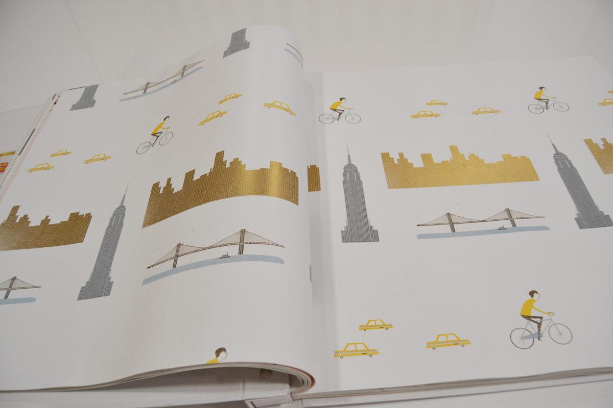 Papel pintado nueva york el p jaro carpintero - Papel pintado nueva york ...