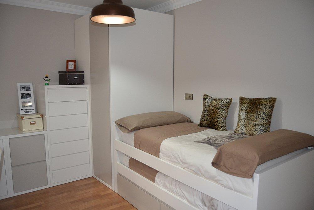 Dormitorios juveniles archivos el p jaro carpintero - Dormitorios blancos modernos ...