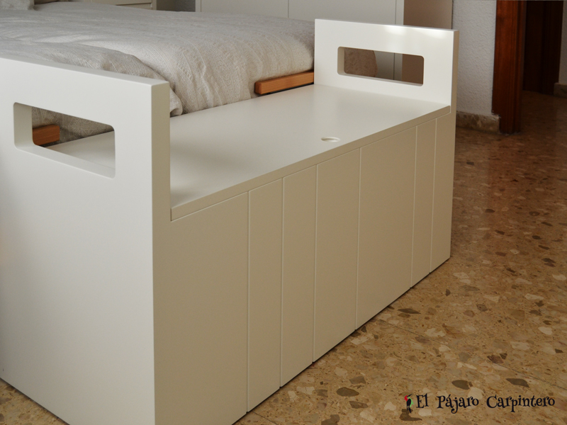 Dormitorio matrimonio minimalista for Baul dormitorio matrimonio