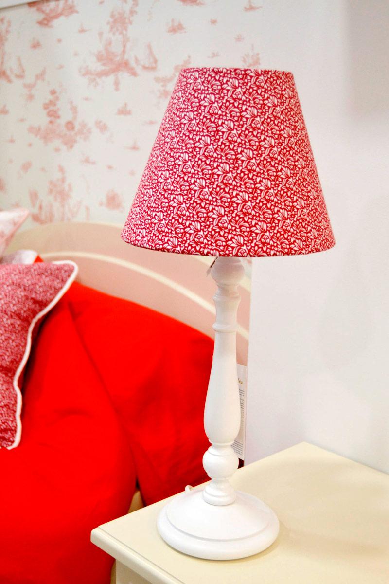 Lámpara personalizada tejido cliente