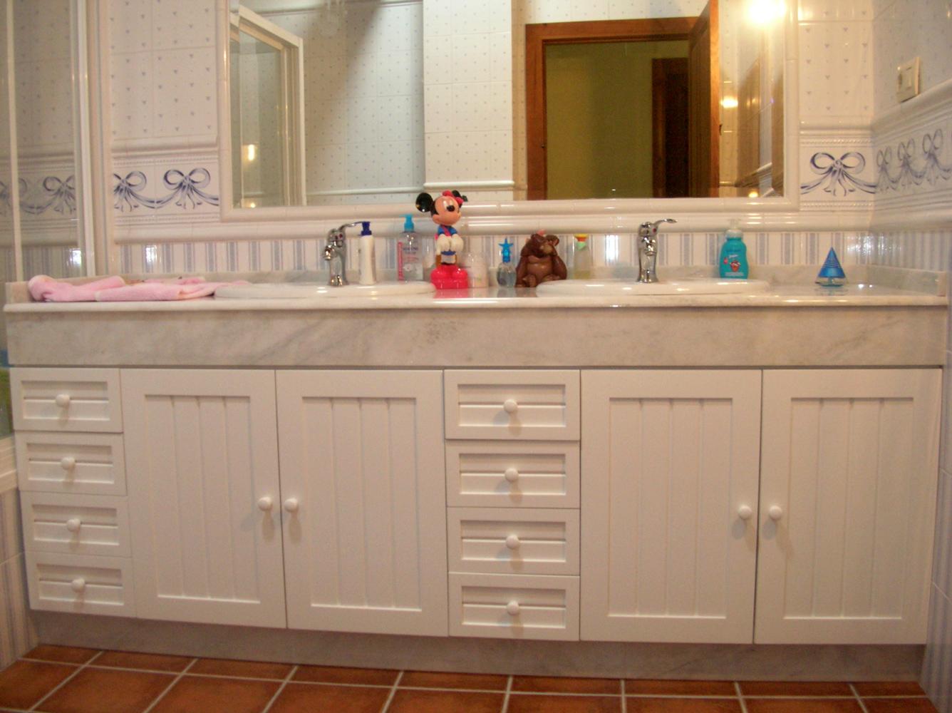 mueble de baño doble - el pájaro carpintero - Muebles De Bano Albacete