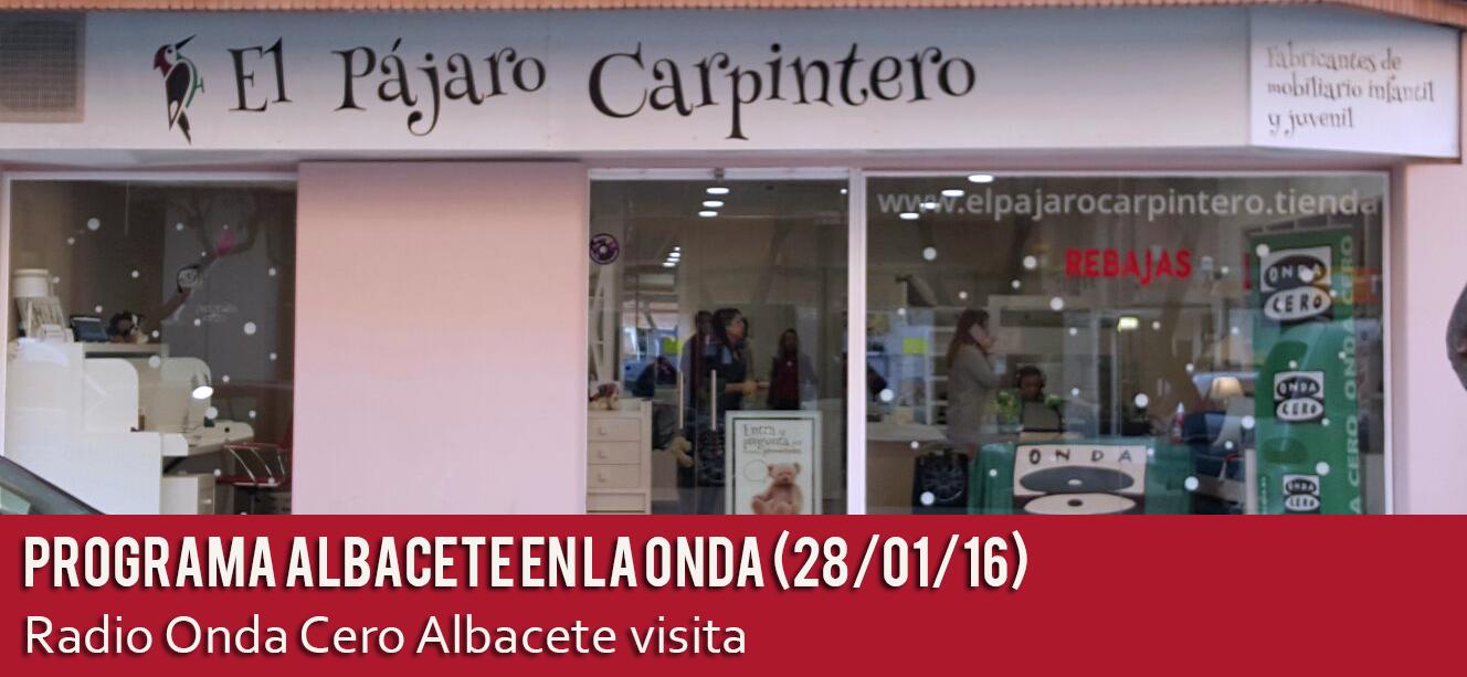El Pájaro Carpintero en Radio Onda Cero Albacete