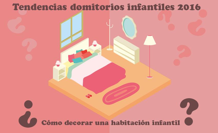 Tendencias dormitorios infantiles 2016