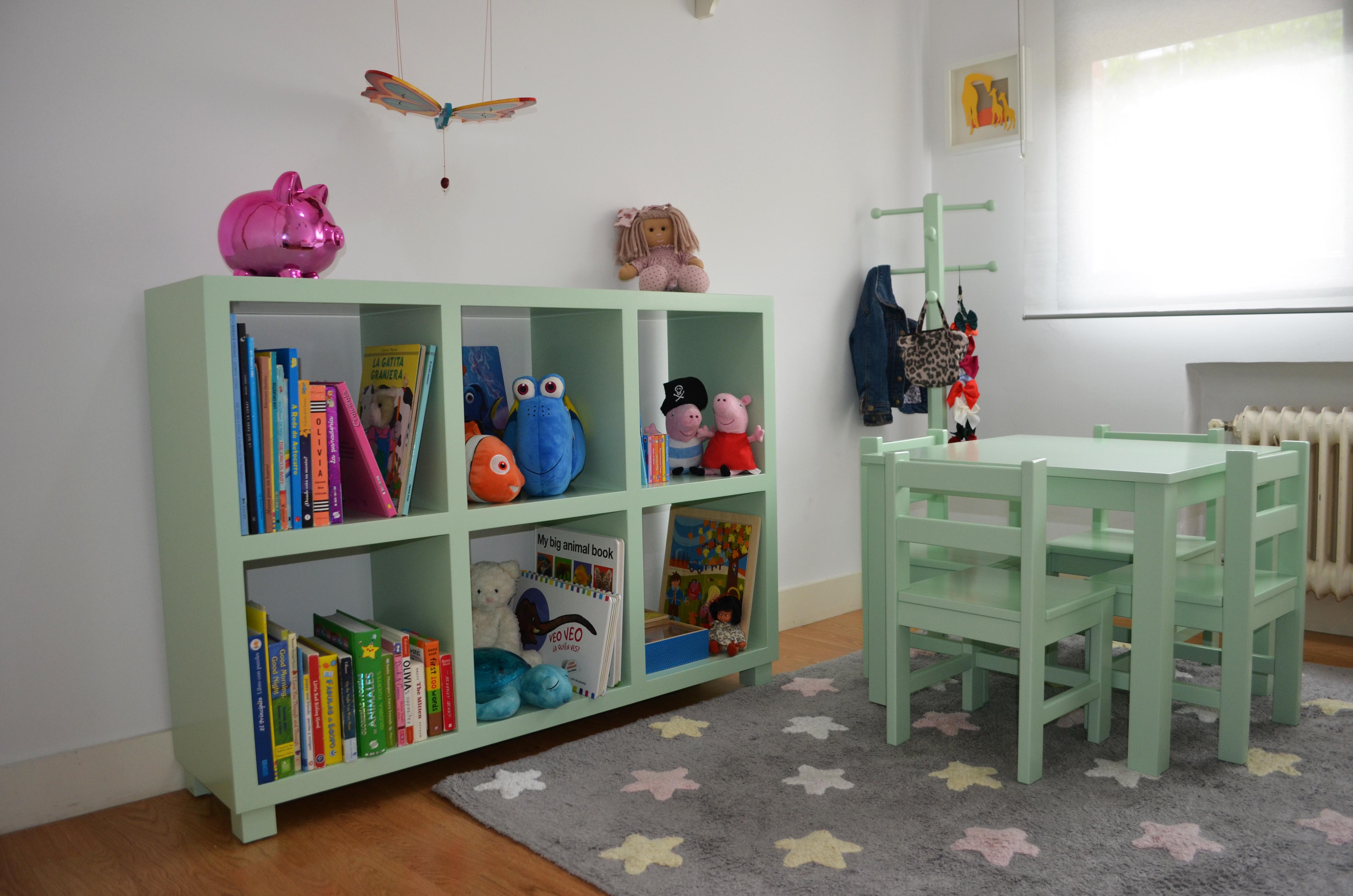 Mobiliario Montessori para dormitorios infantiles