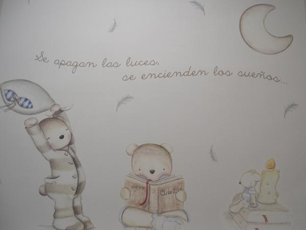 mural sala lactancia