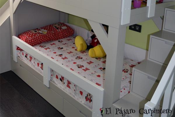 Casita Granero Una Forma De Dormir Y Jugar Con El Mismo Mueble