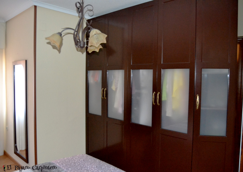 armario dormitorio matrimonio clasico