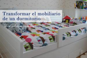Transformando el mobiliario de un dormitorio