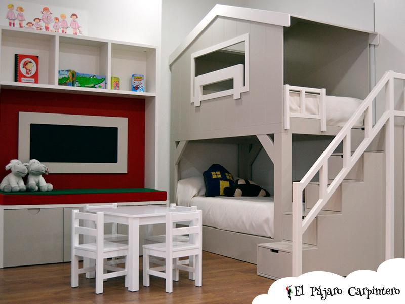 Literas infantiles con tobogan cool la litera cottage de - Tobogan infantil ikea ...
