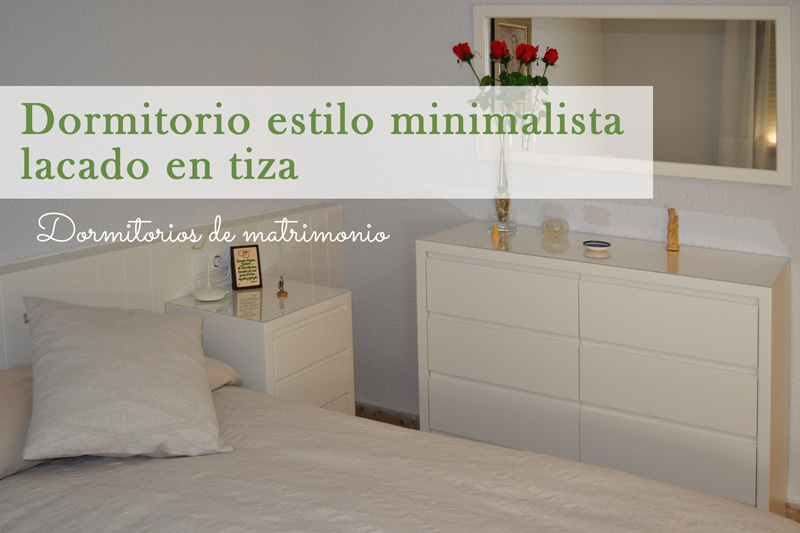Dormitorio matrimonio minimalista for Dormitorios de matrimonio minimalistas