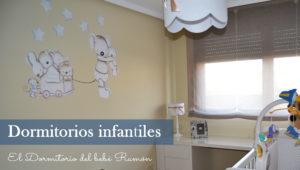 El dormitorio del bebé Ramón
