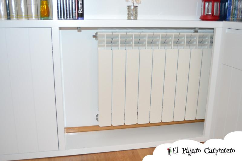 cubre radiador mueble