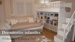 El dormitorio de Javier y Carlos