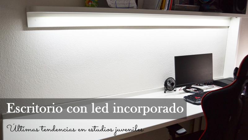 escritorio led