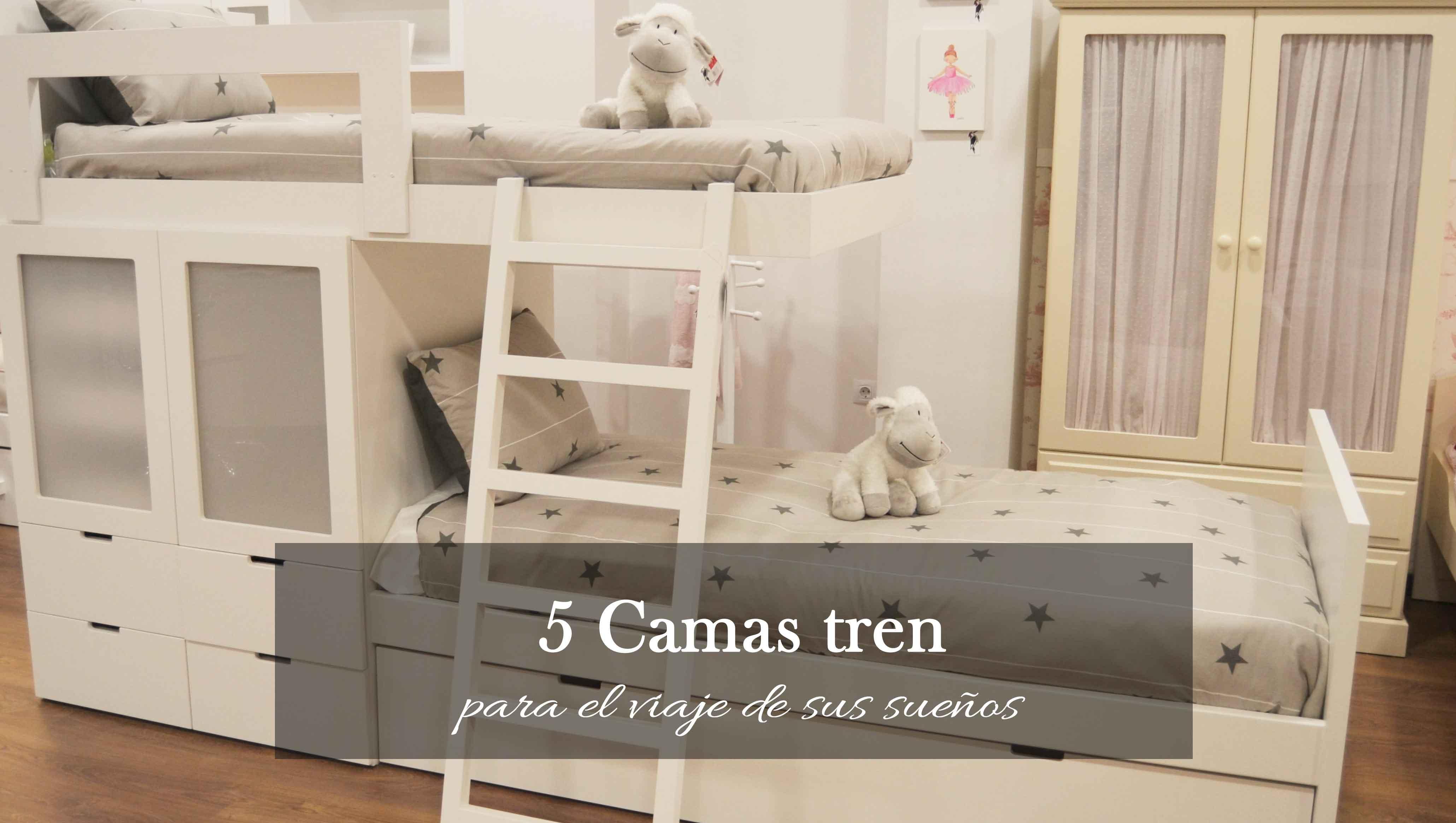 5 modelos de camas tren para el viaje de sus sueños