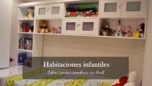 Ideas para cambiar el look de una habitación infantil