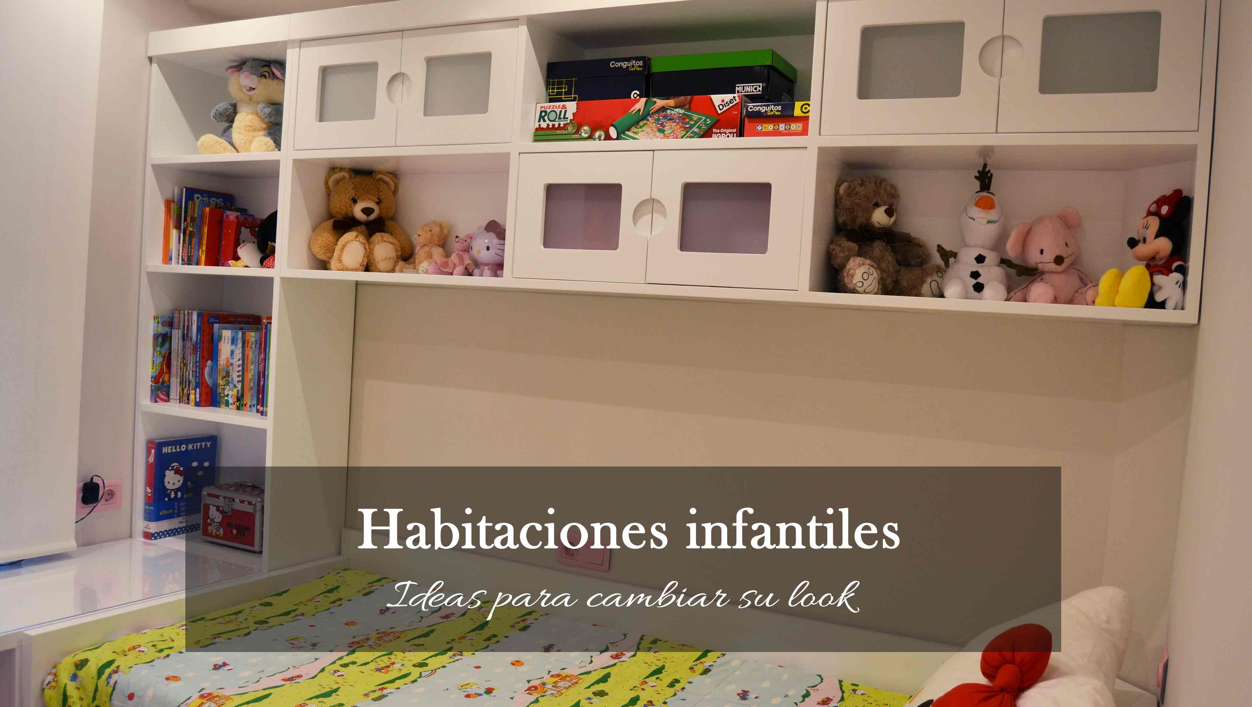 Armarios y puentes, algunas ideas para cambiar el look de una habitación infantil