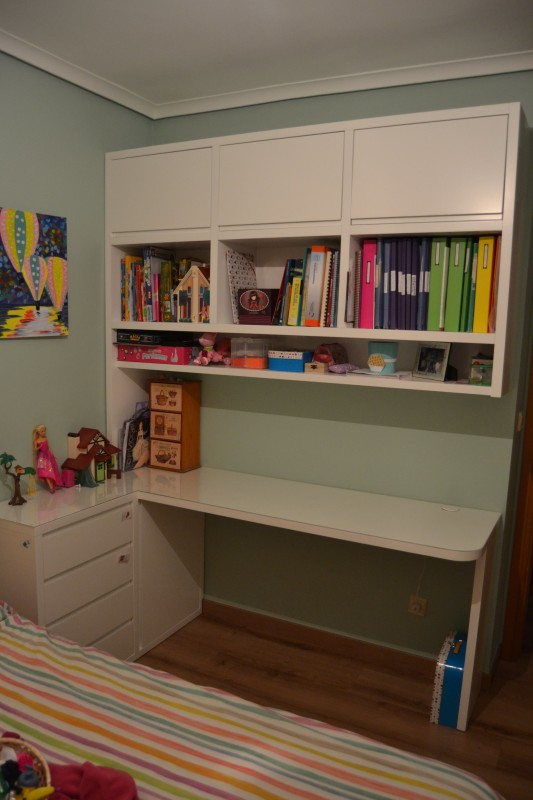 escritorio esquinero pequeño
