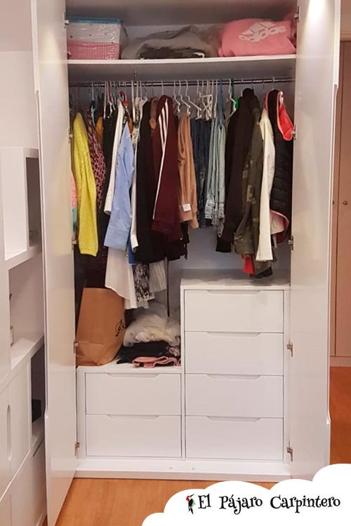 armario juvenil altura