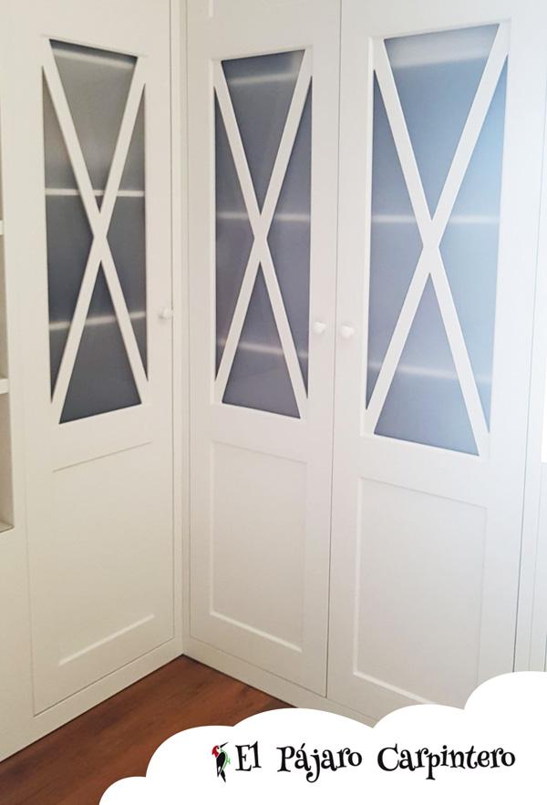armario blanco de matrimonio