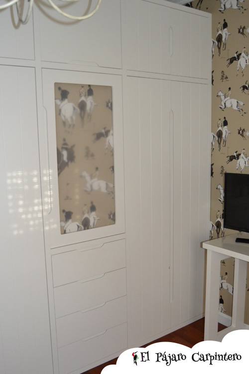 armario dormitorio caballos
