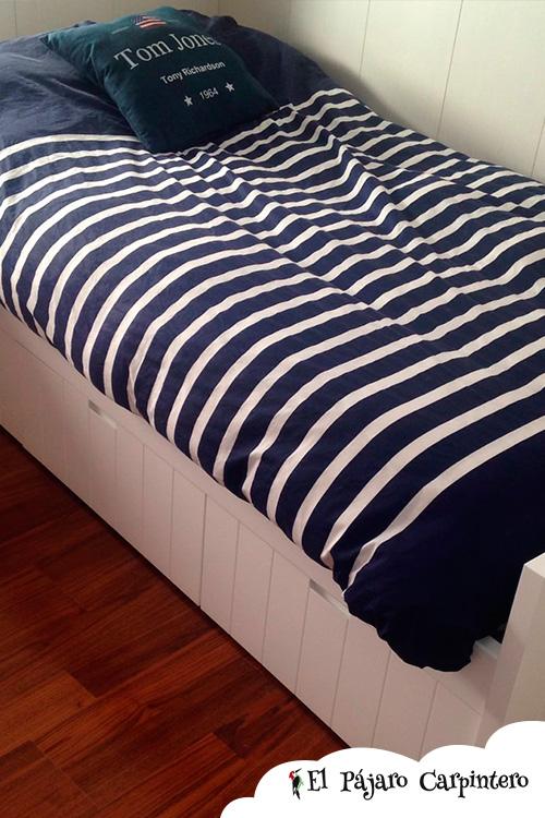 cajones inferiores cama moderna