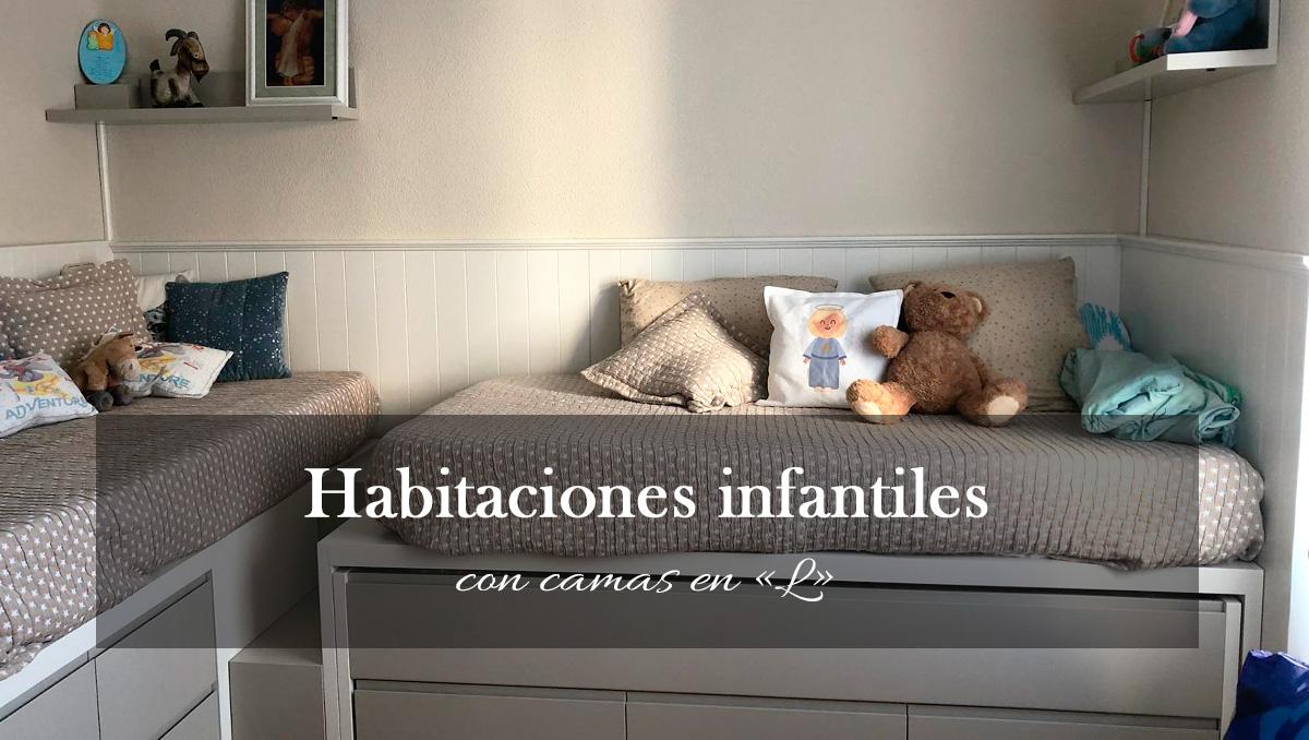 habitaciones infantiles fotos Habitaciones Infantiles Con Camas En L Muebles Albacete El