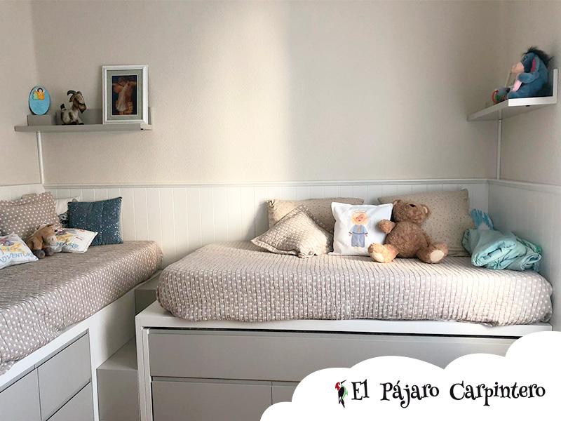 Habitaciones infantiles con camas en L – Muebles Albacete El ...