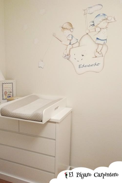 Mural para habitación de bebé