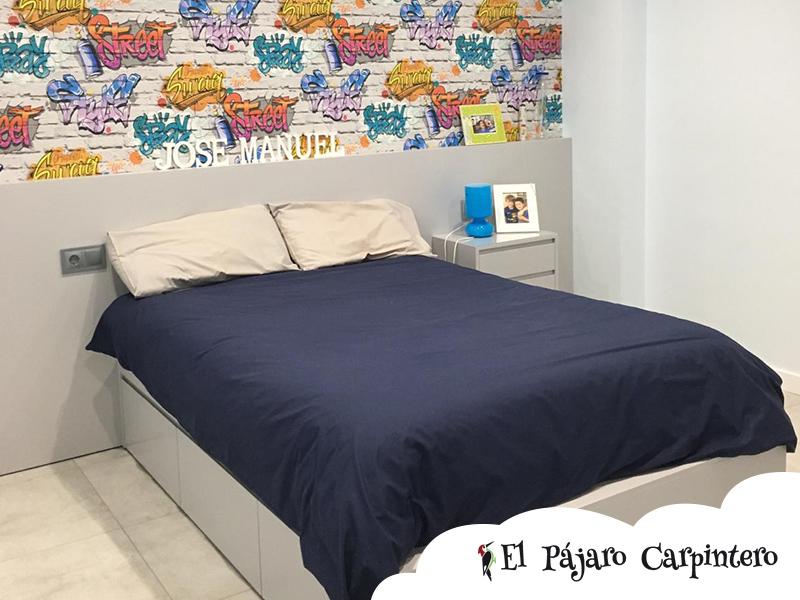 Cama tatami para dormitorio de niño