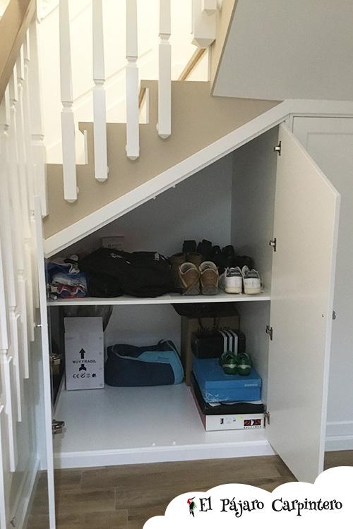 Armario bajo de la escalera