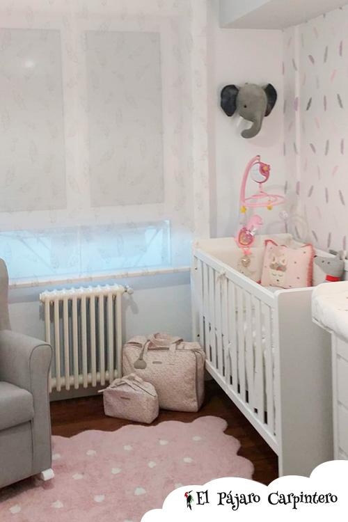 Dormitorio bebé con cuna