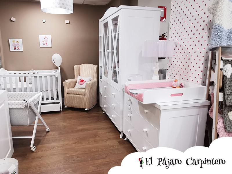 Dormitorio para bebé exposición tienda