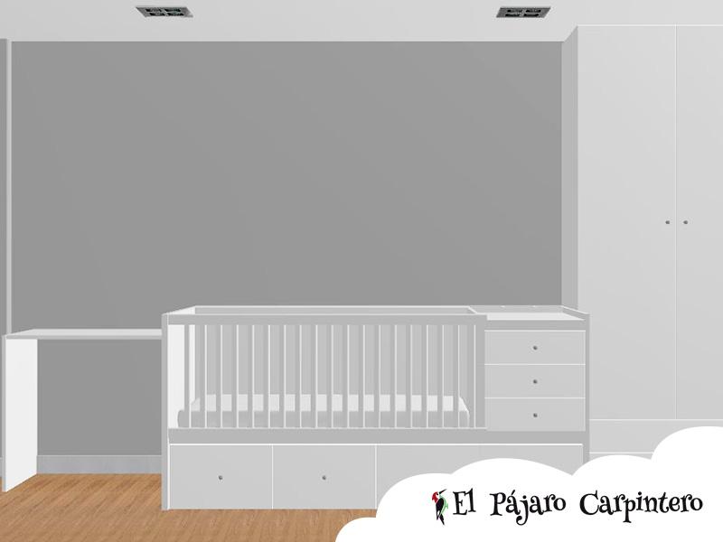 Render dormitorio Raúl