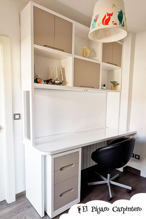 Zona escritorio para niños