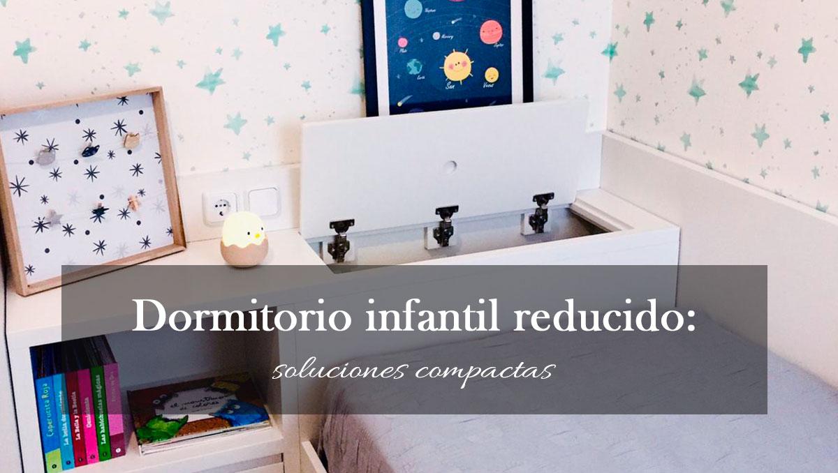 Dormitorio infantil reducido: soluciones compactas