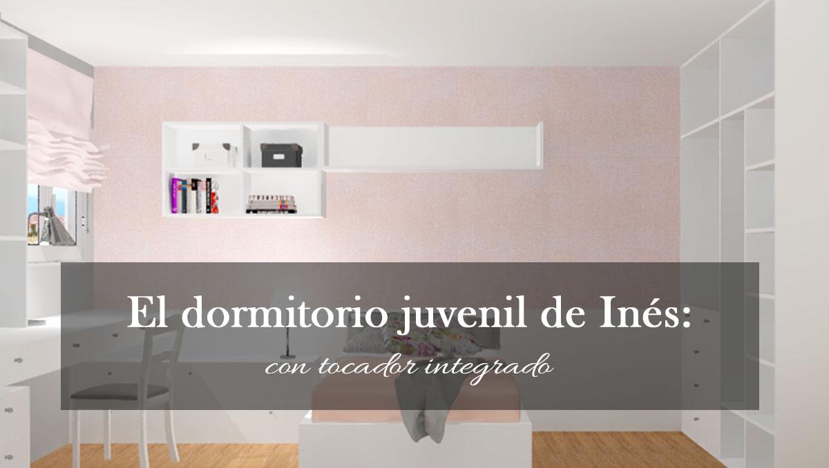 El dormitorio juvenil de Inés