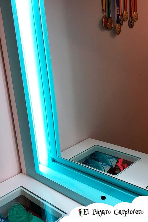 Luz LED para tocador