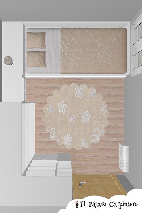 Diseño en 3D planta