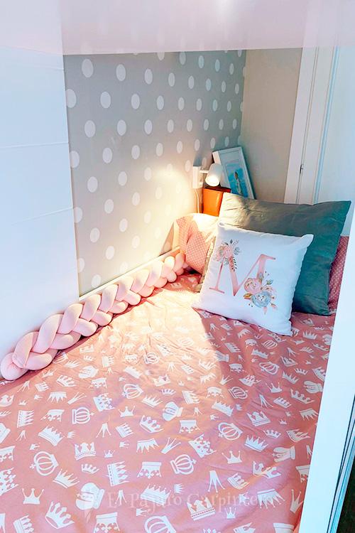 Luz en la cama inferior